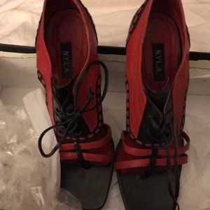 N.Y.L.A. Shoes - Fun Heeled Sandals